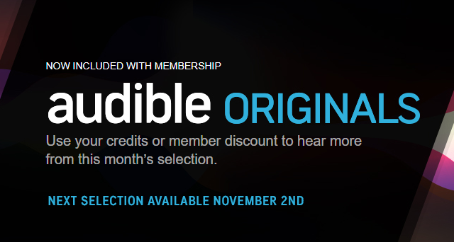 Audible Originals Member Benefit Audible com