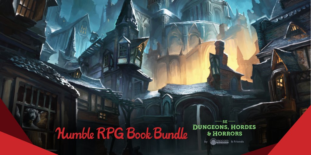Humble RPG Bundle 5E Dungeons, Hordes & Horrors by Frog God & Friends