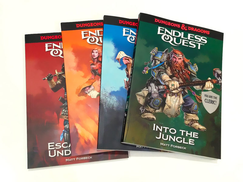 Dungeons & Dragons An Endless Quest Book